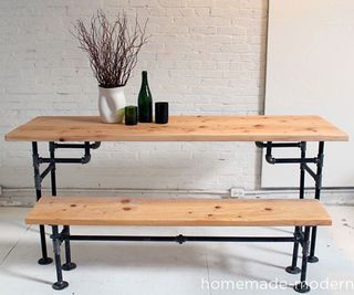 best 25+ pipe table ideas on pinterest | industrial outdoor dining