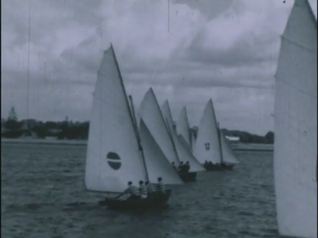 [Click to view film] Australian skiff championships 1936 : a Jack Platt film. More information on film content can be found on the SLWA Catalogue. http://encore.slwa.wa.gov.au/iii/encore/record/C__Rb1397839__Sjack%20platt__P0%2C9__Orightresult__U__X6?lang=eng&suite=def