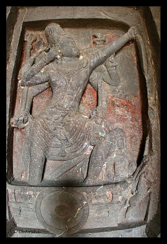 Ellora Caves Kailasa Temple Bas Relief