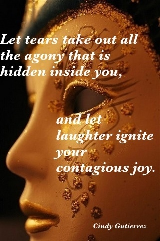 ........let laughter ignite your contagious joy.