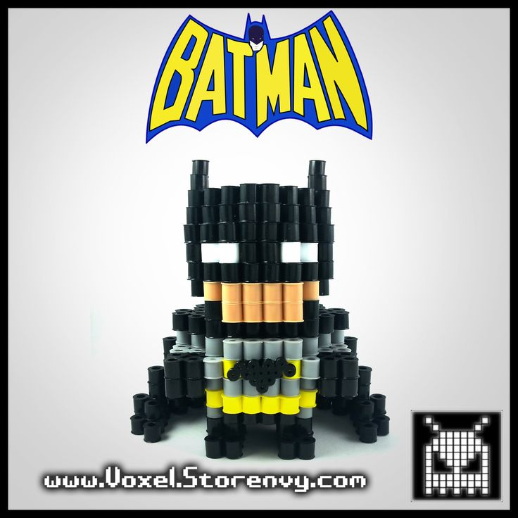 This+is+a+Batman+(Batman+Comics)+I+made+in+the+cool+new+3d+perlerbead+art+style!+    Products+are+made+to+order+and+do+take+about+a+week+to+make+depending+on+the+order.    Please+Like+Voxel+on+Facebook!  http://facebook.com/voxelperlers    (These+products+are+for+sale,+therefore+I+do+not+give+out...