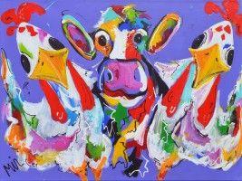 Mirthe Kolkman - Kippen buiten koe naar binnen