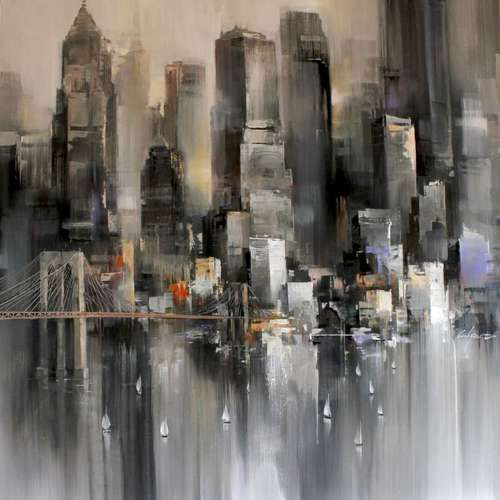 Les 25 meilleures id es de la cat gorie toile de peintre for Art et maison new york