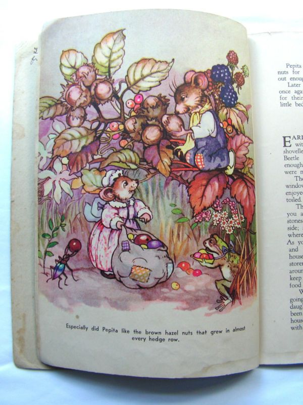 1940's Vintage Peg Maltby Children's Books Pip & Pepita in Goblinland & New Home