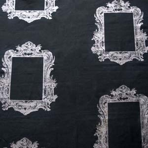 Hertex Fabrics - Couture  Frame Onyx