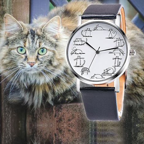 Cat-chup and grab this cool Freebie Cat Watch.😁 😻 Purrrfect for cat lovers everywhere! 👍