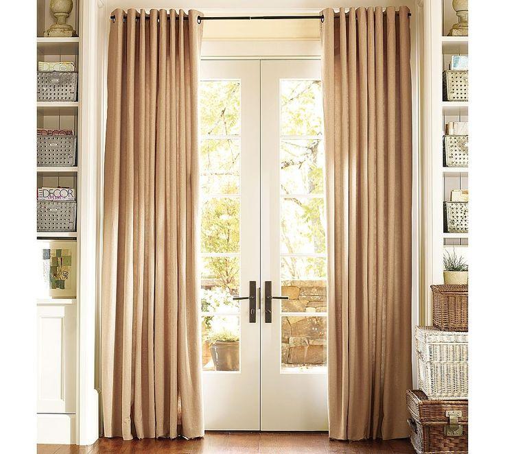 floor length curtains on short windows