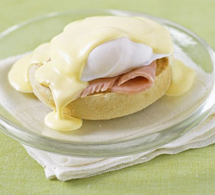 BBC Good Food- Dead Good Hollandaise. Is there anything better than eggs benedict? Try this over asparagus and a poached egg. Heaven! I love experimenting with what goes on the English muffin- bacon, ham, prosciutto, spinach, tomato, asparagus... ALL delicious with a killer hollandaise!