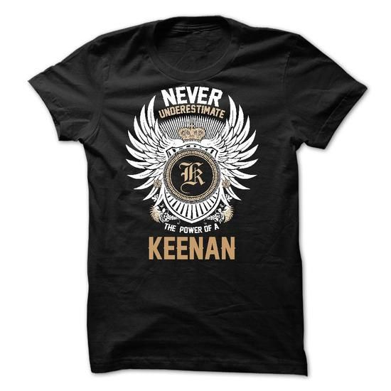 Never Underestimate The Power of a KEENAN - #baby tee #tshirt recycle. ORDER HERE => https://www.sunfrog.com/Names/Never-Underestimate-The-Power-of-a-KEENAN.html?68278