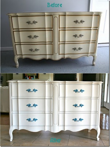 23 best images about french provincial furniture makeovers - Painted french provincial bedroom furniture ...