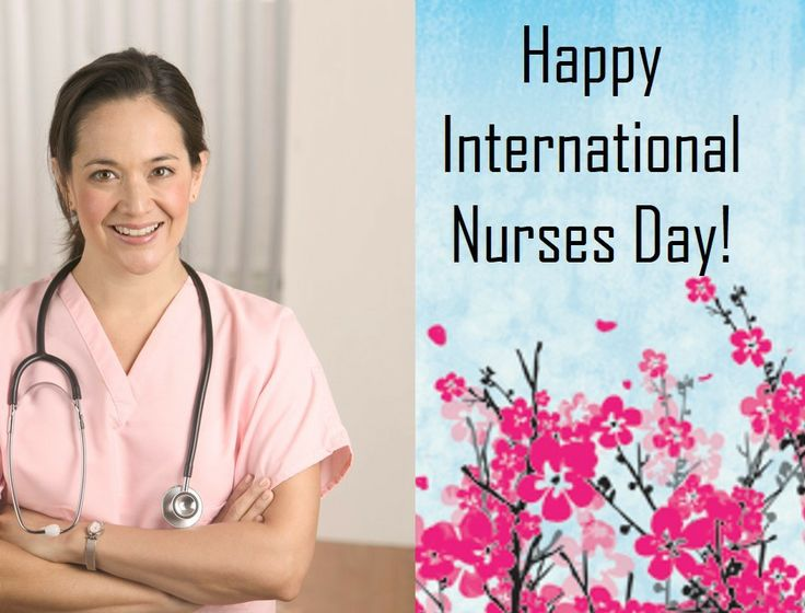 Here's a shout out to all the nurses who touch our lives