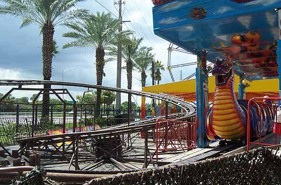 Bernies Theme Park located at the Swap Shop, Fort Lauderdale, Florida