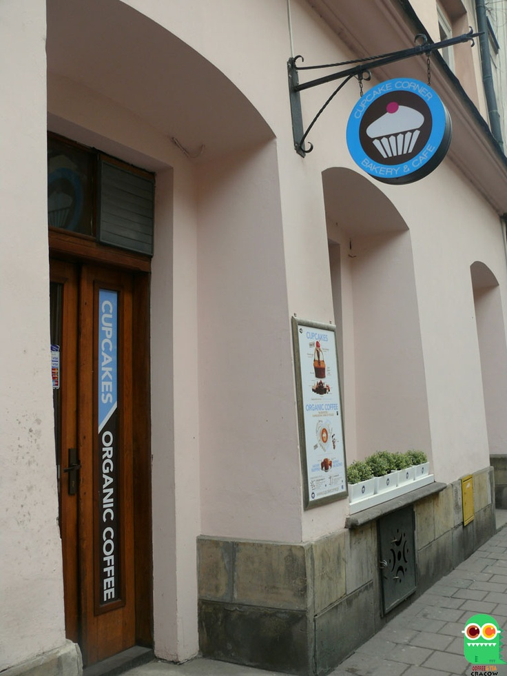 Cupcake Corner Bakery Cracow