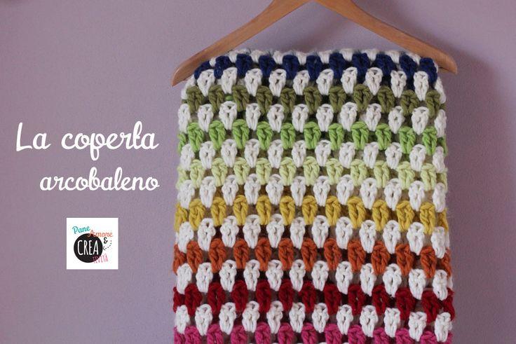 Coperta all'uncinetto tutorial #crochet