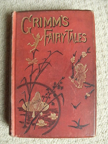 An Antique copy of Grimm's Fairy Tales. I remember being completely absorbed at break time in the library with this book. A wonderful escape.