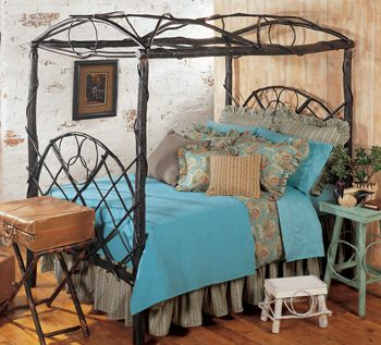 canopy bedDecor Ideas, Beautify Beds, Dreams Beds, Canopy Beds, Bedrooms Beds, Westerns Bedrooms Furniture, Beds Frames, Canopies Beds, Country