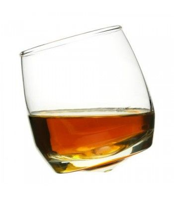 Rocking Whiskey Glasses, Set of 6