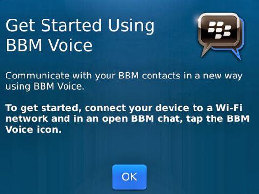 BBM Voice untuk Android dan iOS