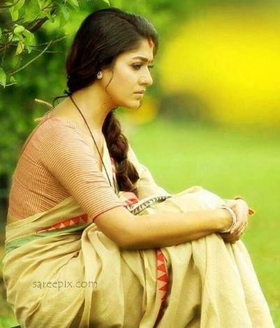 "#nayanatara #saree #cottonSaree #PuthiyaNiyamam  Nayanatara sarees in Malayalam movie ""Puthiya Niyamam"". The south Indian beauty looks gorgeous in sarees."