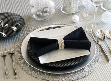 place settings dinner party new years eve eve party party ideas