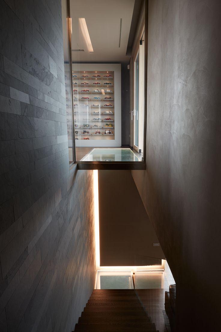 Private house, Reggio Emilia. Designed by Diego Perusko.