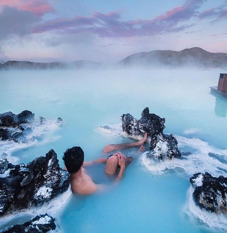 ♡ the blue lagoon natural hot springs in ireland ♡