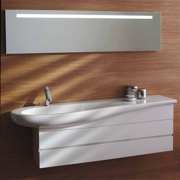 Laufen Alessi One Waschtischunterbau weiß lackiert 4243600976311
