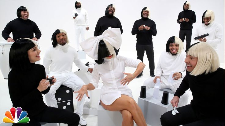 """Jimmy, Sia and Natalie join the Roots for a special performance of the classic song """"Iko Iko."""" Instrument list below: Sia - vocals Jimmy - spoons Natalie - b..."""