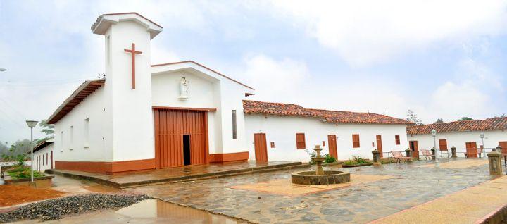 Zapatoca Santander Colombia - San Vicentico es una parte de este hermoso poblado que conserva la arquitectura colonial en sus casas: tapia pisada, teja de barro, puertas de madera y calles empedradas