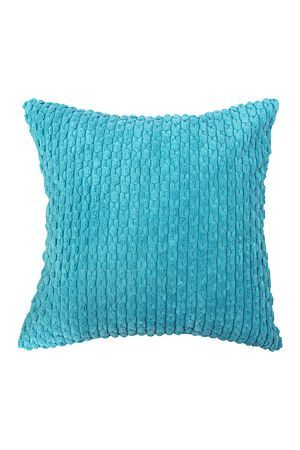 """Add texture and warmth to your living space with this microfibre cushion cover. Inner sold separately.<div class=""""pdpDescContent""""><BR /><b class=""""pdpDesc"""">Dimensions:</b><BR />L45xW45 cm<BR /><BR /><b class=""""pdpDesc"""">Fabric Content:</b><BR />100% Polyester<BR /><BR /><b class=""""pdpDesc"""">Wash Care:</b><BR>Lukewarm machine wash</div>"""