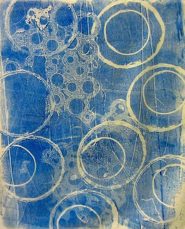 How to Mono-Print on Fabric with Gel Printing Plates