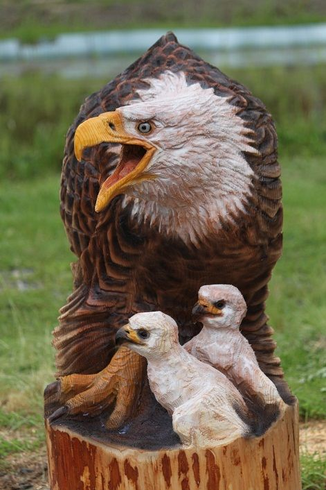 Best tree carvings images on pinterest
