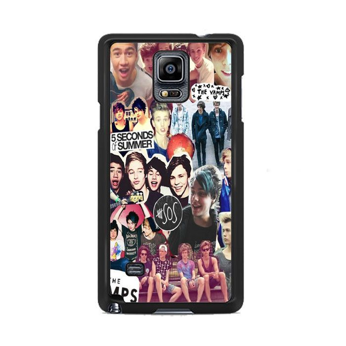 5 Second of Summer and The Vamps Collage Samsung Galaxy Note 3|4  Cases