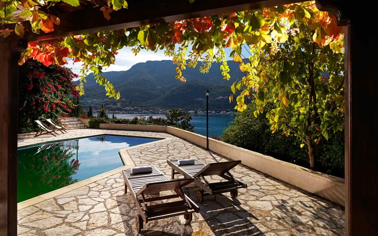 Odyssey Apartments.In Ithaki Island, Ionian Sea