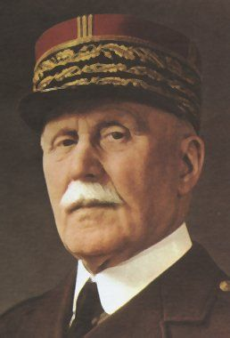 Philippe Pétain - Premier Ministre 1940-1942 - Mort le 23 Juillet 1951, âgé 95