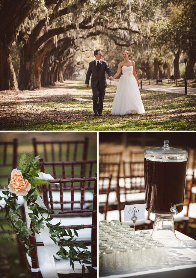 Boone Hall Plantation Weddings Charleston The Wedding Row