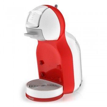 Mini Me White&Red De'Longhi EDG305.WR - Macchine - NESCAFÉ® Dolce Gusto®. Preparare le tue bevande preferite è facilissimo: basta regolare la levetta trasparente in base al tuo gusto e MINI ME si ferma automaticamente al livello d'acqua da te selezionato, sia per le bevande calde che per quelle fredde. Così compatta, semplice e intuitiva, MINI ME trova spazio non solo in cucina, ma in qualunque angolo di casa grazie alla sua straordinaria versatilità di design e colore. Scegli quella che più…