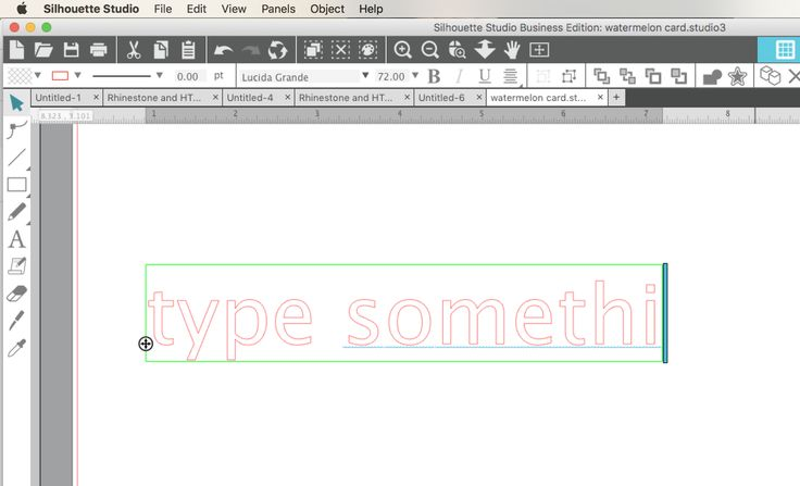 How to connect text in Silhouette Studio. Learn how to use the welding tool to join text so you can easily cut script fonts with Silhouette CAMEO.