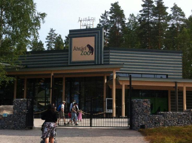 Ähtärin Eläinpuisto - Ähtäri, Länsi-Suomen Lääni