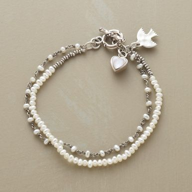 Pearl bracelet from Sundance Catalogue - nice and easy!