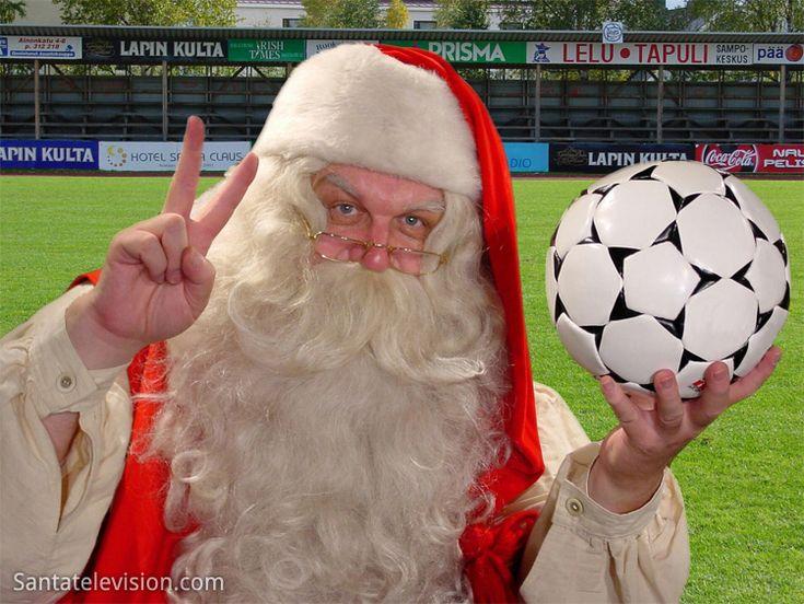 Papai Noel adora Futebol