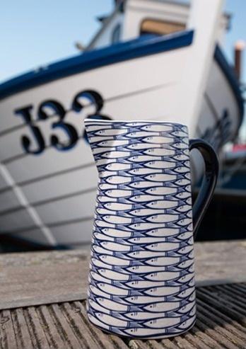 Domestic Sluttery: Jersey Pottery Do The Sardine Run