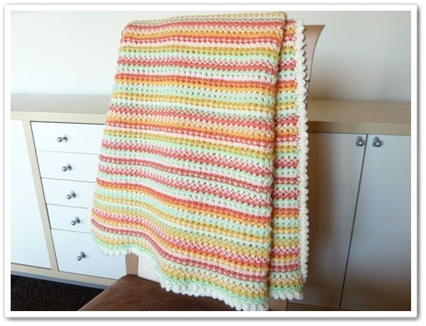 Made in K-town: Dots'n'Dashes Baby Throw
