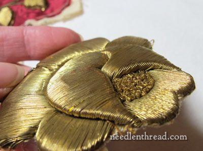 Goldwork Rose