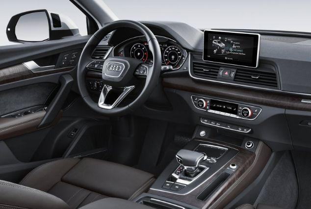 2017 Audi Q5 Engine Feature