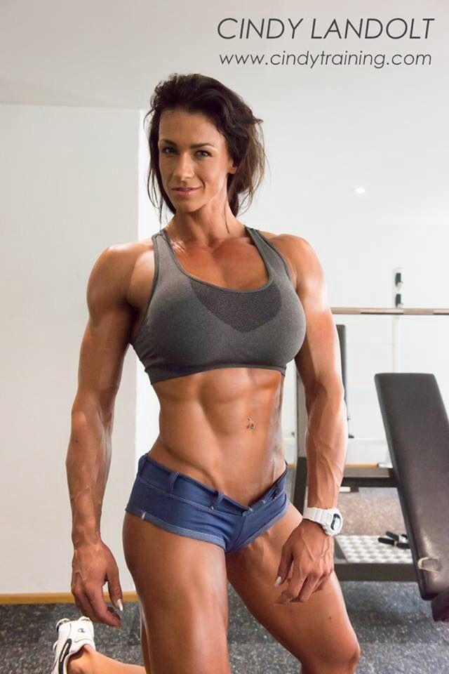 Sexy buff women