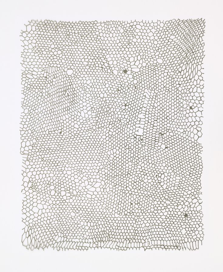 Rachel Whiteread. Untitled (Nets). 2002 Medium Etched metal sheet from a series of five