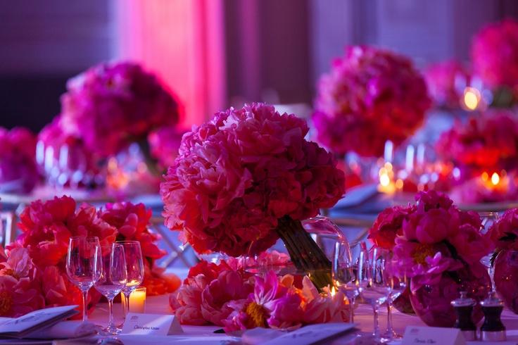 Salon Vendôme...with amazing flowers on the table designed by @jeffleatham @fsparis  copyright Studio Cabrelli
