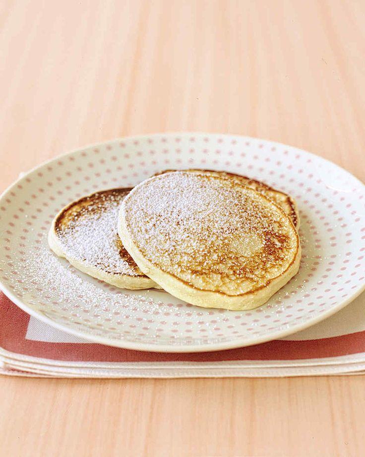 Grated navel orange zest and ricotta cheese make ordinary pancakes extraordinary.