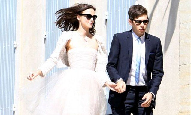 Keira Knightley admits her Chanel wedding dress is ruined
